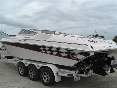 fountain boats for sale ohio 2003 fountain fever powerboat for sale in ohio