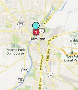 Hamilton Ohio Map by Hamilton Ohio Hotels Amp Motels See All Discounts
