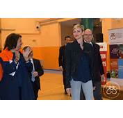 The Princess Charlene Rally For International Sports Day In Monaco