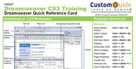 dreamweaver quick tutorial html5 quick reference guide phpsourcecode net