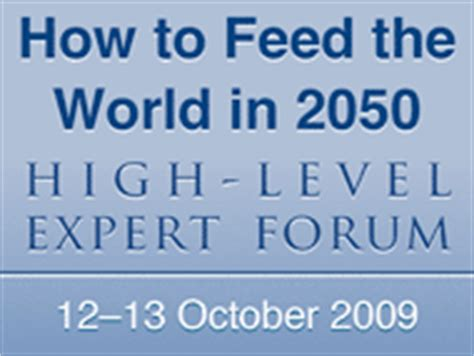 World In 2050 Essay by 2050 High Level Experts Forum Issues Briefs
