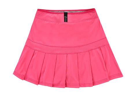s high elastic cotton pleated skirts running fitness