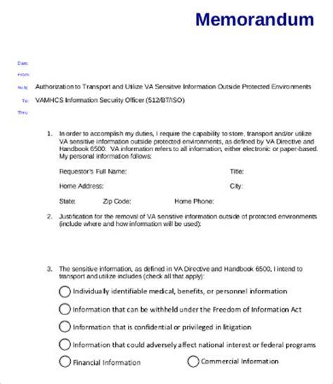 Va Memo Template Business Memo 9 Free Word Pdf Documents Free Premium Templates
