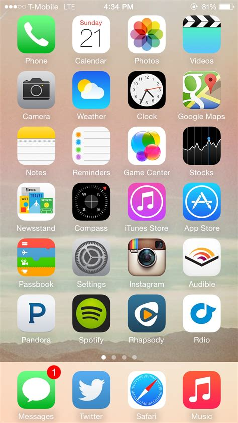 how to change home screen wallpaper iphone 5 free