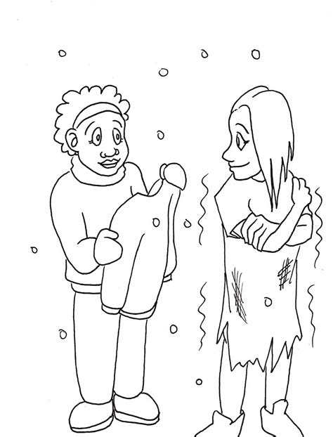 coloring pages showing kindness free coloring pages of showing kindness
