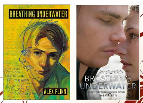 rachael turns pages cover face off breathing underwater