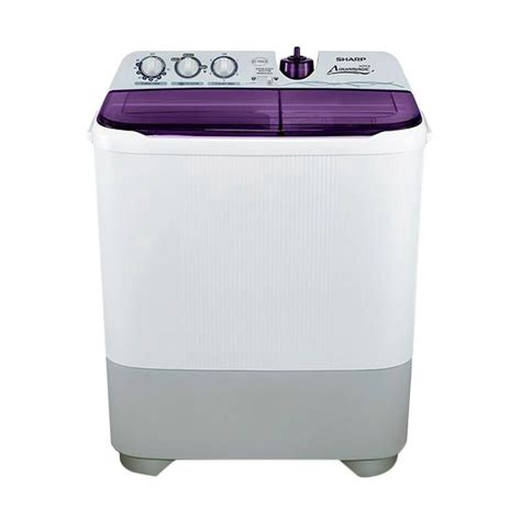 Mesin Cuci Sharp Aquamagic 7kg jual sharp aquamagic es t85cr vk mesin cuci violet