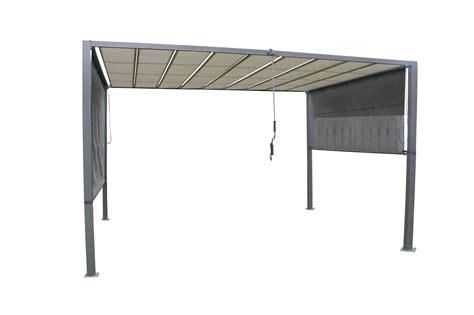 pavillon mit lamellendach garten im quadrat gro 223 e design garten pergola mit