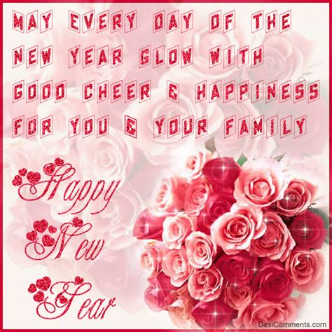 flower happy new year gif flower bouquet for you desibucket