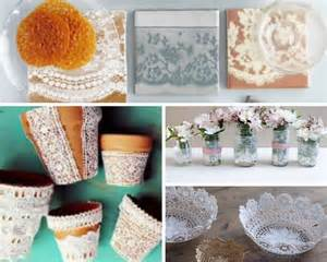 dyi projects 40 adorable diy projects with lace you ll fall in love