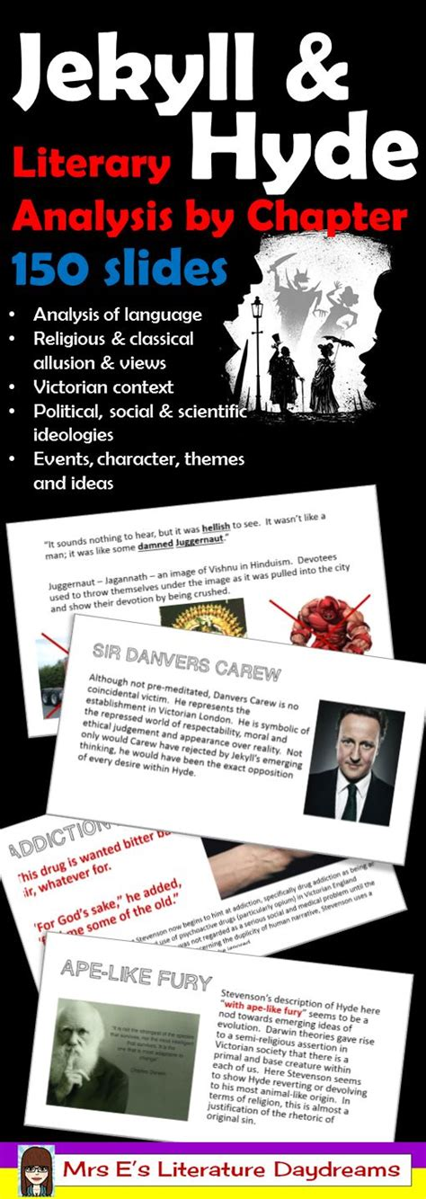 common themes in jekyll and hyde teaching robert ri chard and cases on pinterest
