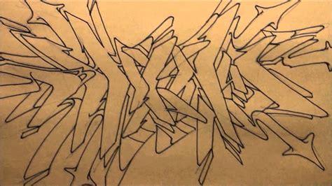 draw graffiti black  white sketch  graffiti