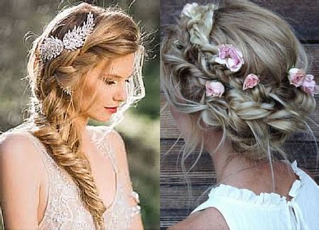 Wedding Hair Boho Style by Summer Wedding Hairstyles You Ll Lifestyle Salons