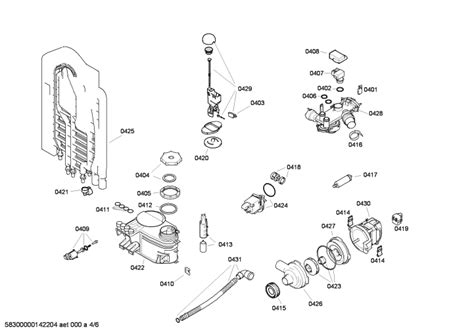 bosch classixx dishwasher parts diagram bosch classixx dishwasher wiring diagram image collections