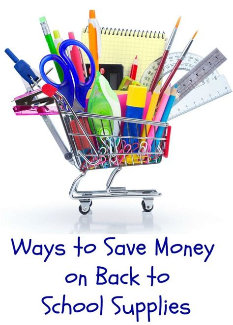 7 Ways To Prepare For Back To School by Ways To Save Money On Back To School Supplies