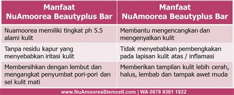 Amoorea Plus Bar Dengan Stemcell Apel Murah fungsi dan manfaat sabun nu amoorea plus bar nu