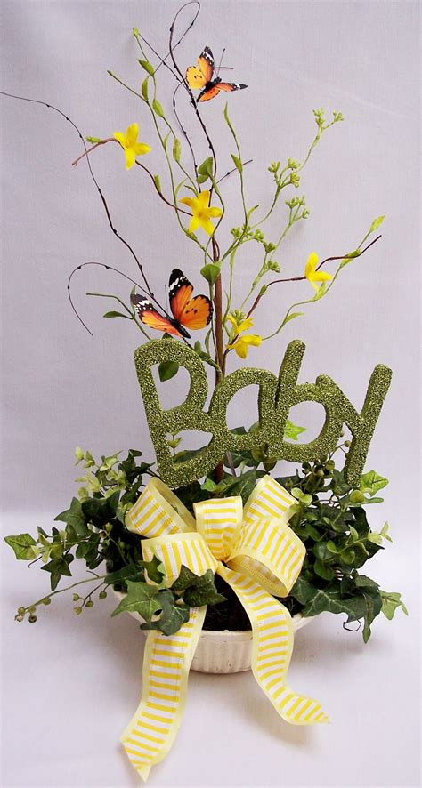 centerpieces with butterflies baby shower floral arrangements baby shower centerpieces with butterflies elephant palm