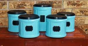 Teal Kitchen Canisters coffee can canister craft ideas pinterest