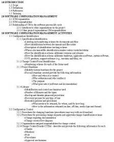 Standard Outline Format by Configuration Management For Transportation Management Systems Handbook