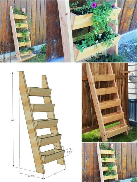 diy herb garden planter best 25 garden ladder ideas on herb planters