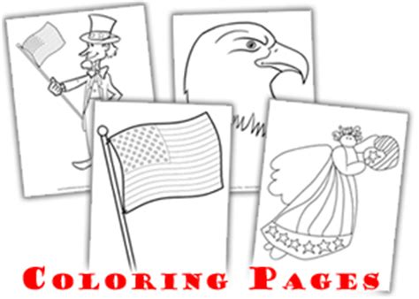 Uncle Sam Hat Page Coloring Pages Sam Hat Coloring Page