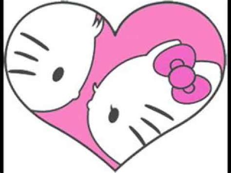 hello kitty and dear daniel coloring pages hello kitty and dear daniel forever heart icon youtube