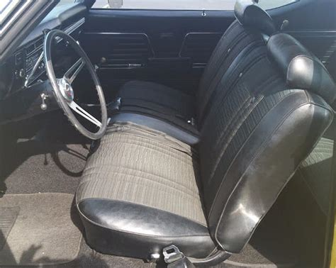 69 Chevelle Interior by 69 Ss With Vinyl Cloth Seats Chevelle Tech