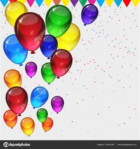 imagenes originales de globos fondo de fiesta cumplea 241 os globos fiestas coloridos