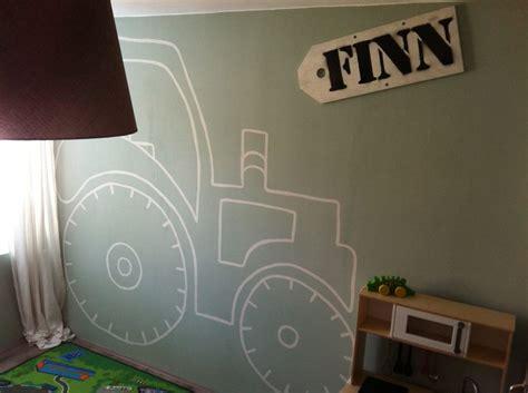 behang kinderkamer boerderij finn s slaapkamer contour van een tractor home