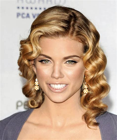 fashioned hair annalynne mccord pin curls hairstyle hairstyles fashion