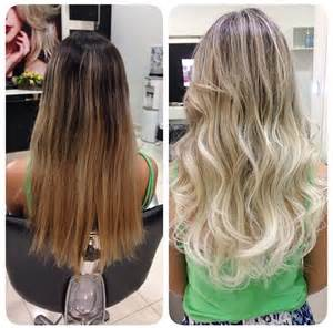platinum ombre hair hair platinum blonde ombre hairstyles pinterest