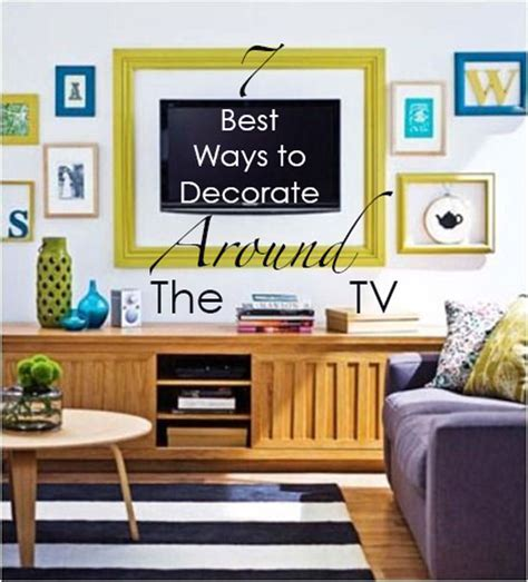 ways to mount a tv 7 best ways to decorate around the tv maria killam