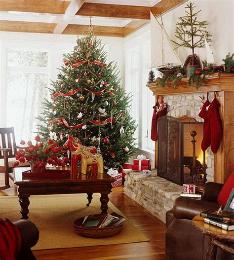 big christmas tree in small room 60 country living room decor ideas family net guide to family