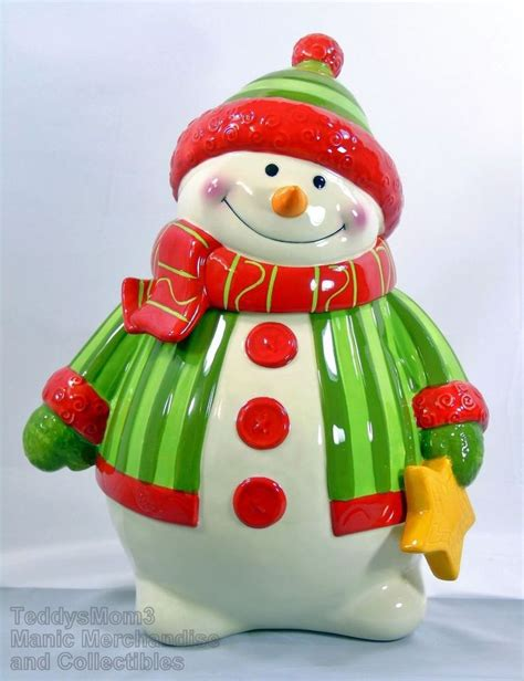 641 best christmas cookie jars images on pinterest