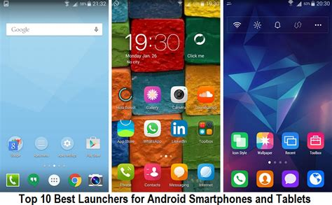 best android tablet launchers top 10 best launchers for android smartphones and tablets