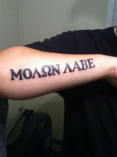 molon labe tattoos 305 best images about tattoos on om padme