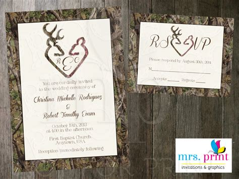 Camo Wedding Invitations Free Templates Egreeting Ecards Camouflage Wedding Invitations Templates