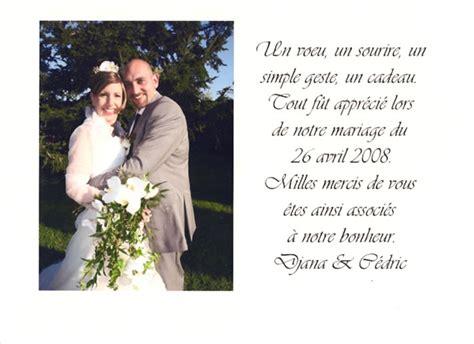 Exemple De Lettre De Remerciement Invitation Mariage Modele Lettre Remerciement Pour Mariage