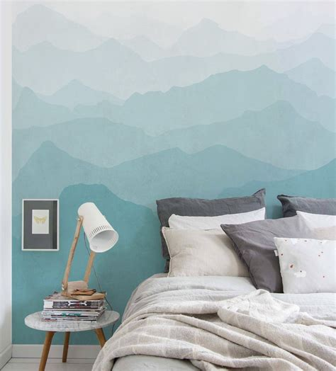 wallpaper for walls art mountain mural wall art wallpaper peel and stick