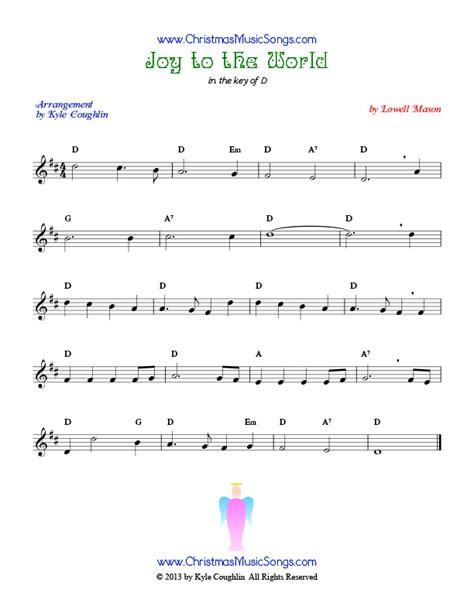 printable lyrics joy to the world joy to the world sheet music music for savannah