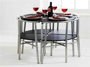 Space Saver Dining Room Sets Space Saver Dining Set Homesfeed