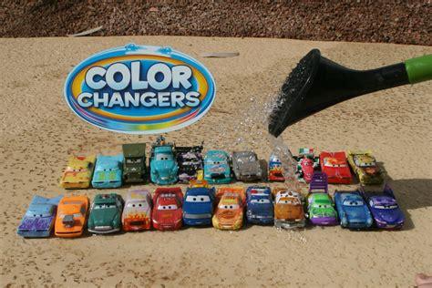 color changer color changers cars cars 2 color splash speedway