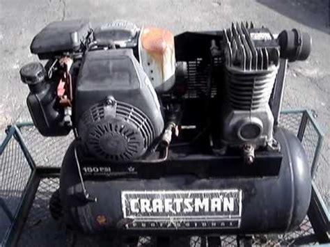 fixing  hp honda powered craftsman air compressor youtube