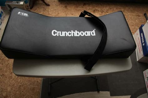 crunchboard exercise stomach calves thighs back muscles exercise equipment city of