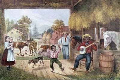 the barn floor currier and ives currier and ives prints quot the barn floor quot