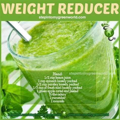 Celery Parsley Lemon Detox by Weight Reducer Green Smoothie Green Apple Don T Peel