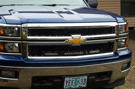 2014 Chevy Silverado Light Problems by Led Grille Install 2014 Up Chevy Silverado Medium Duty