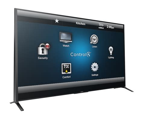 sony x and w series tv lineup now control4 automation