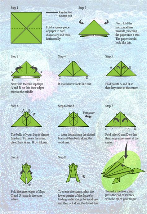 Frog Origami Step By Step - 301 moved permanently