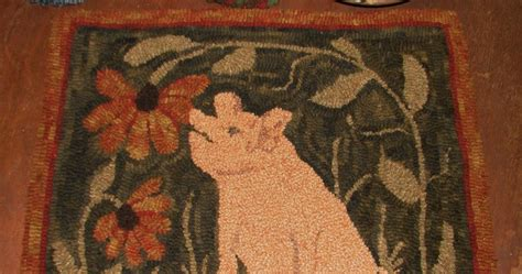 pig rug the tattered flag meet maximus snifficus pig in the flower garden rug and would you